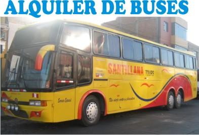 ALQUILER DE BUSES - SANTILLANA TOURS